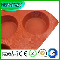 China Custom Large Silicone Rubber Bread Baking Pan,Silicone Fruit Cake Mould silicone coated fiberglass bread form on sale