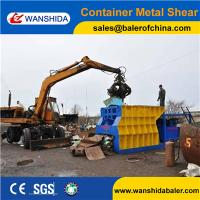 Quality Q43W-4000 Automatic Scrap Metal Cutting Machine Container Shear from Wanshida for sale