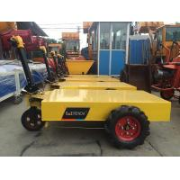 Buy cheap construction machinery wheel trolley electric pallet mobile cart with battery from wholesalers