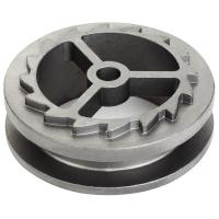 China High Precision Cast Carbon Steel Wheels Electric Polishing For Automotive on sale
