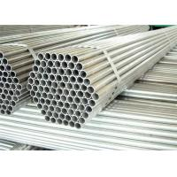 Buy cheap Hot Dipped Round Steel Pipe / GI Pipe Pre Galvanized Steel Pipe Tube 5.8m 6m Length product