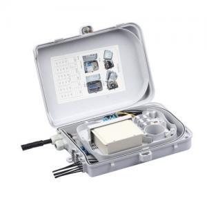 China FTTH FAT Box Fiber Distribution Box 24 Core 330 * 225 * 90 Light Weight / Small Size on sale
