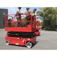 Buy cheap 10m Height 450kg Hydraulic Scissor Lift Platform For Construction product
