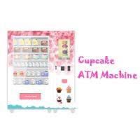 Buy cheap Automatic Food Vending Machine For Cupcake Breakfast Bread With Elevator Lift from wholesalers