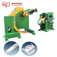 Buy cheap Slitter Steel Coil Decoiler Straightener Feeder 3 in 1 For Press NC Car Components product