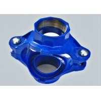 Buy cheap DIN2950 12inch Blue Grooved  Mechanical Tee / Sprinkler Pipe Connectors product