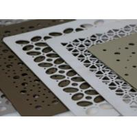 Buy cheap High Security Decorative Perforated Metal Low Maintenance Aesthetic Appearance product