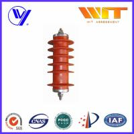 Buy cheap 51KV Metal Oxide Surge Arrester Medium Voltage Protection Gapless KEMA product