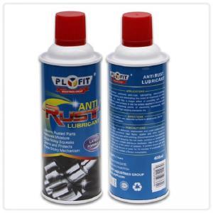 Buy cheap 65x158mm REACH Tinplate 400ml Anti Rust Lubricant Spray product