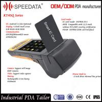 Wifi GSM RuggedBarcode Scanner for Android Chip Card , 8MP Camera