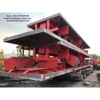 Buy cheap 40ft 3 Axle Sea Container Trailer , Used Semi Flatbed Trailers Steel Material product