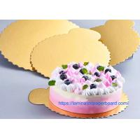 Buy cheap Food Grade White Board With Aluminium Foil For Cake Board/Christmas Decoration from wholesalers