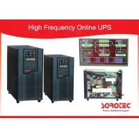 Buy cheap ECO mode High Frequency Online UPS efficiency up to 98% , 3 phase ups Factor 0.9 product
