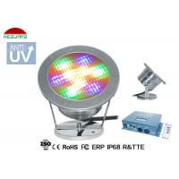 Buy cheap 5 Wires RGB DMX Control LED Underwater Pool Lights 9W 12V DC 316 Stainless Steel product
