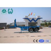 China 2 Axles 20ft / 40ft Transport Container Tipper Semi Trailer Sinotruk Huawin on sale