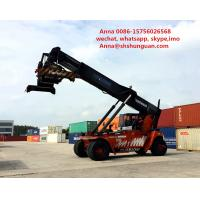Buy cheap New Battery Used Reachstacker Lifting Stacker Diesel Engine Power Source product