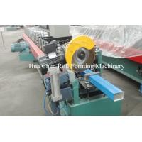 Buy cheap 76.2 * 101.6mm Rectangular Downspout Roll Forming Machine For Rainwater Downpipe product