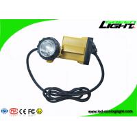 Buy cheap High Beam LED Mining Light , LED Mining Headlamp With Big Capacity Battery Pack from wholesalers