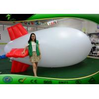 Buy cheap Inflatable Airship PVC Helium Balloon / Inflatable Advertising Blimps For Promotion product