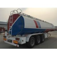Buy cheap 55cbm CIMC Fuel Tank Trailer Explosion - Proof Fuel Transfer Trailer product