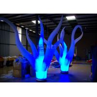 Buy cheap Color Changing Inflatable Tree Durable 210 D Oxford Cloth For Event Decoration product