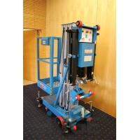 Buy cheap Easy Loading Hydraulic Work Platform , 10 Meter Vertical Mast Lift For Factories product