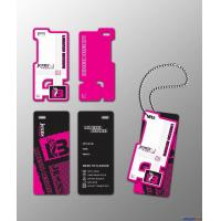Buy cheap Color printing garment label hang tags from wholesalers