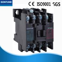 Black Three Phase Magnetic Contactor With Overload Relay Flame Retardant