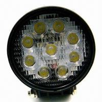 Buy cheap 27W LED Work Light with 2,000lm Luminous Flux and One Year Warranty product