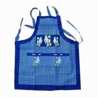 Buy cheap Kitchen Cooking Apron, Made of Cotton, Various Sizes/Patterns are Available product