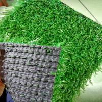 Buy cheap 25mm Dog Safe Artificial Grass On Top Of Paving Slabs 9000 Dtex 1mm Width product