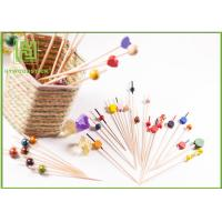 Buy cheap Food Grade Baby Shower Toothpicks Decorative Skewers For Food Odorless product
