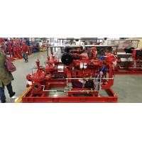 Buy cheap Large Electric Motor Driven Centrifugal Pump / Techtop Motor Fire Fighting Pump Set NFPA20 product