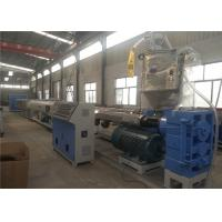 Buy cheap Plastic Pipe Extrusion Line , Large Diameter PE Pipe Machinery , SJ Series Pipe from wholesalers