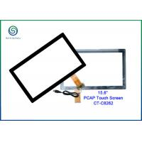 Buy cheap 15.6 Inch Projected Capacitive Touchscreen Panel With Strengthened Cover Glass from wholesalers