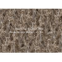 Buy cheap MDF Panel Board Cover Fake Marble Adhesive Film Fire For Home Decor Prevention product