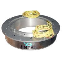 Buy cheap 5 Wires Large Current Pancake Slip Ring With 450mm Hole , Compact Design And Reliable Capacity product