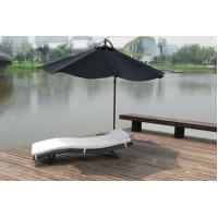 Buy cheap Sunbed Outdoor Furniture Garden Relaxer Chairs Sun Loungers With Cushion from wholesalers