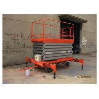 Buy cheap Factories Mobile Elevated Working Platforms , 7m Max Height Scissor Platform Lift product
