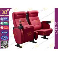 Buy cheap Luxury 3d Theater Cinema Chair / Sponge + Fabric + Steel Movie Seat product