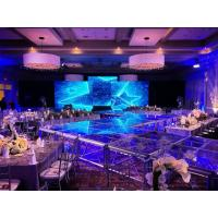 Buy cheap Latest 3.9mm Indoor Stage LED Screen Super Light Display for Fashion Show in London from wholesalers