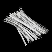 Buy cheap White Color Face Mask Materials Nose Wire Medical Flexible Wire Light Weight product