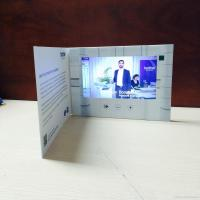 Buy cheap HD 1024 X 600 LCD Video Brochure With Video Screen , Digital Greeting Cards product