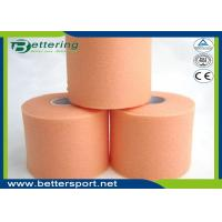 Buy cheap Orange Colour Foam Bandage Underwrap Sports Tape Bandage 7cm x 27m Athletic Taping For Outdoor Activities product