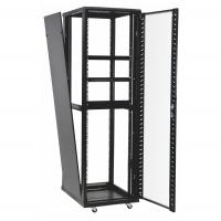 Buy cheap 42u 37u Perforated Door Network Equipment Rack Floor Standing Data Center Cabinet product