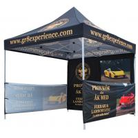 Buy cheap Waterproof Advertising Canopy Tents, Hexagonal Steel Frame Outdoor Canopy Tent product