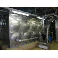 China SS 304 Stainless Steel Water Tank For Drinking Water Factory Stainless Water Tanks on sale