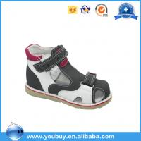 Buy cheap Beautiful Buckle Strap Easy Wear Orthopedic Sandals Shoes For Boys,Professional Hard Sole Shoes product