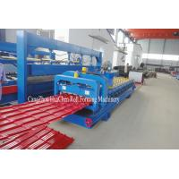Buy cheap Hydraulic Automatic Glazed Tile Roll Forming Machine Special Model For Villa product
