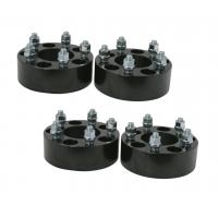 Black Anodized 1.5 Inch Wheel Adapters 38 Millimeter Studs Nuts High Precision